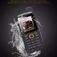 F8 waterproof IP67 Unlocked walkie talkie Quad Band dual SIM phone mobile phone