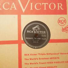 EDDIE HILL Presswood The Giant Killer/I Changed My Mind RCA VICTOR E+/E HEAR