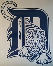 Detroit Tigers Decal Set- 4 pc CORNHOLE Board Decals Vinyl Sticker Window Decals