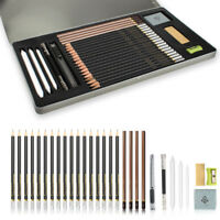Essentials Graphite Drawing and Sketching Pencil Art Set (3H-12B) for Adult&Kids
