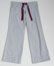 WOMENS JACK WILLS TROUSERS PANTS LOOSE FIT LOW RISE GREY SIZE UK 10 VGC