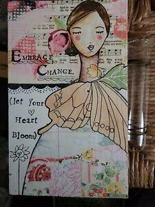 Angel Sign, Embrace Change, let your Heart Bloom.
