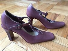 Bettye Muller - Mary Jane/ T-Strap - Heels - Size 8.5 / 39 Excellent