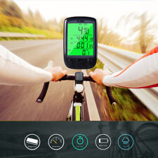 Waterproof Wired Bicycle Speedometer Odometer Bikes Computer With Backlight Mode