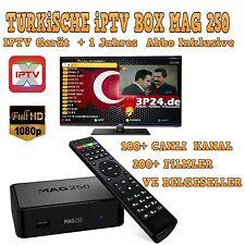 180 Turco Free TV IP Canales y 200 Turco Películas - 1 Año Suscripción en MAG250