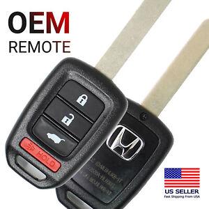 Honda OEM Keyless Remote Head Key CR-V HR-V MLBHLIK6-1T 35118-T0A-A30 CRV HRV