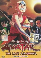 Avatar: The Last Airbender Book 1-3  Full Series DVD in English Audio