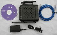 Belkin F5D8236 Wireless-N Router 300 Mbps 4-Port 10/100 Switch WIFI broadband