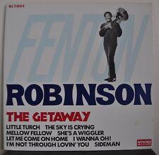 Fenton Robinson la fuga Japan LP 1978 Vivida Sound VS-7001 + INS