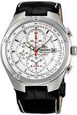 ORIENT FTD0P004W0,Men Alarm Chronograph,Brand New,100m WR,WITH TAG AND GIFT BOX