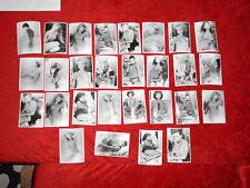 28 x Foto Frau Strip Hairy nackt Erotik Nude FKK Akt Studie Fotokunst Photo D