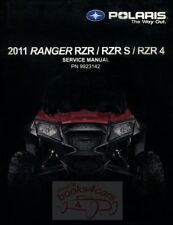 POLARIS 2011 RANGER SHOP MANUAL RZR S 4 SERVICE REPAIR BOOK