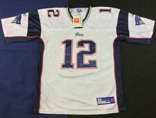 New England Patriots Football-NFL Tom Brady #12 Reebok player  Jersey Size54
