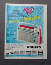 PUB PUBLICITE ANCIENNE ADVERT CLIPPING 230917 / TRANSISTOR PHILIPS 17 MODELES