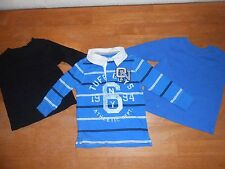 Boys shirts size 12 month, lot of 3, blue, black, polo Old Navy, Garanimals #781