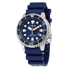 Citizen Promaster Professional Diver Dark Blue Dial Mens Watch BN0151-09L