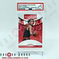 Trae Young ROOKIE 2017 Contenders ROY #6 Cracked Ice PSA Mint SSP #d/25 🔥🔥🔥🏀