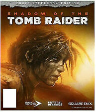 Shadow of the Tomb Raider - Croft Steelbook Edition (Sony PlayStation 4, 2018)