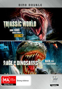DINO DOUBLE (TRIASSIC WORLD / RAGE OF THE DINOSAURS) (2013) [NEW DVD]