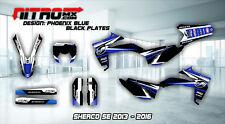 Sherco Graphics Kit Decals Design Stickers SE 250 300 450 2013 - 2016 Motocross
