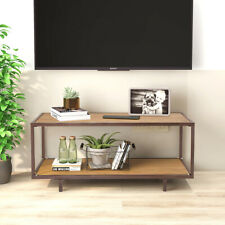 Console Table Storage Table Accent furniture Metal Wood Coffee Table Living Room