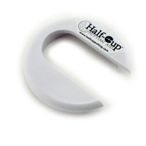 New Half Cup Putting Aid Practice PRECISION on MID & SHORT RANGE PUTTS