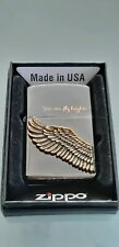 Original Japan Zippo Ice Angel Wing - You can fly higher  2017 - Neu