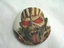 Cool Vintage Iron Maiden Rock 'n Rock Band Concert Souvenir or Promo Pinback