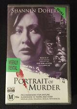 PORTRAIT OF MURDER - SHANNEN DOHERTY & PETER OUTERBRIDGE - VHS