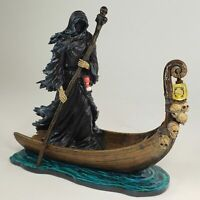 NIGHT LIGHT Charon Greek Ferryman of Hades Reaper Death Gothic Fantasy Statue