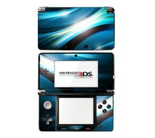 Vinyl Skin Decal Cover for Nintendo 3DS - Abstract Blue Spectrum