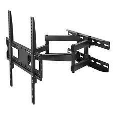 "Soporte de pared para pantalla TV LCD/LED 26-55"" 30kg VESA brazo doble Maclean"