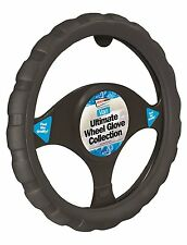Streetwize Soft Grip Black Van Interior Protection Steering Wheel Cover Glove