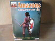 Figurines 1/72 Linéar-A-021 Amazons, boite compléte sur grappes, Atlantic,Airfix