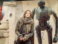 Felicity Jones Star Wars Rogue One Signed Autograph 11X14 Photo - RACC Trusted
