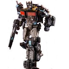 Black Transformers Optimus Prime Car War for Cybertron Siege Voyager  Figure Toy