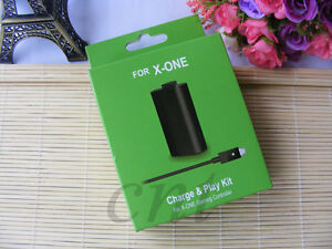 FOR Microsoft XBOX ONE Play and Charge Kit X box One Rechargable Battery