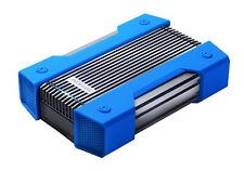2TB AData HD830 Durable USB3.1 Portable Hard Drive AluminumSilicone BlackBlue