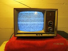 Vintage Television GE General Electric Performance Portable TV Seems To Work