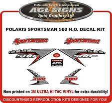 2005 POLARIS  Sportsman 500 H.O. 4X4 Decal kit  reproductions HO