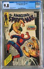 Amazing Spider-Man #57 (1968) CGC 9.8 -- O/w to white pgs; Stan Lee John Romita