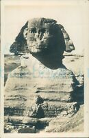 1920s Egypt The Sphinx Photo Postcard