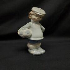 "Lladro #4967 ""Soccer Player Puppet"" Retired"