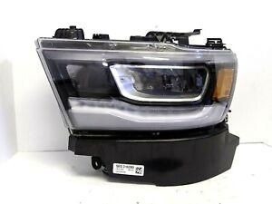 2019 2020 2021 Dodge RAM 1500 FULL LED Headlight Left Hand OEM 68316083