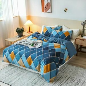 Simple Heart Duvet Cover Sets King Size Bedding Set  Quilt Cover No Bed Sheet