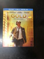 Gold Blu Ray+Dvd W/Slipcover And Digital Copy.  Sealed