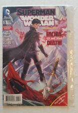 Superman Wonder Woman #5 NM+ (DC,2014) Factory Sealed Rare!! The New 52!