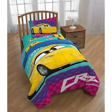 Disney Cars 3 Movie Cruz Reversible 4PC Twin Bedding Set *New*
