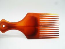 PROFESSIONAL PLASTIC AFRO HAIR COMB STYLING/UNTANGLING Hair African Hair Brown