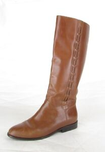 Vintage Nicole Brown Leather Equestrian Riding Boots Womens 7.5 M